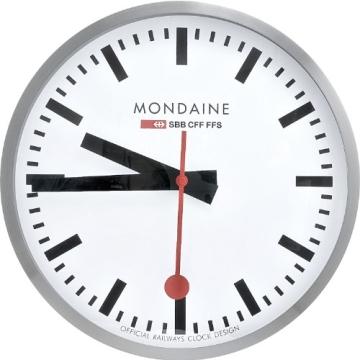 Mondaine Round Wall Clock 40 Cm Diam., A995.CLOCK.16SBB - 4