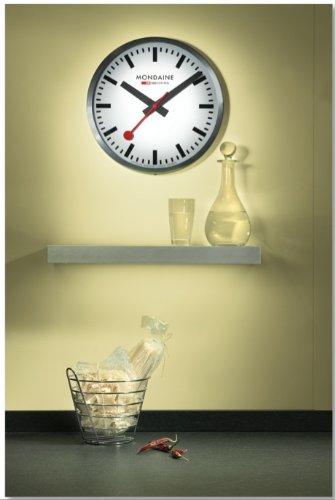 Mondaine Wanduhr Official Railways Clock A990.CLOCK.16SBB - 5