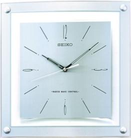 SEIKO Clocks Wanduhr Funk QXR205S - 1