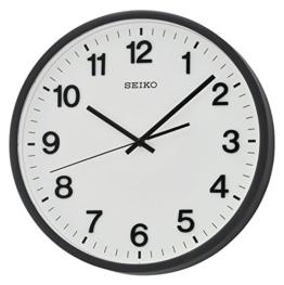 Seiko Unisex Wanduhren Analog schwarz QXA640K - 1