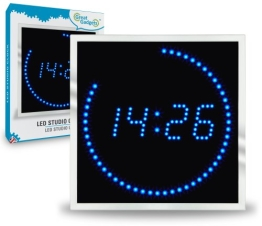 GreatGadgets 1886 LED Studio Uhr - 1
