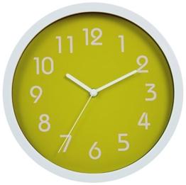 HITO™ modernen bunten Stille Nicht-tickende Wanduhr- 10 Zoll (grün) - 1
