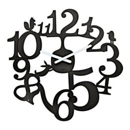 Koziol 2327526 Wanduhr Pi:P solid, schwarz - 1