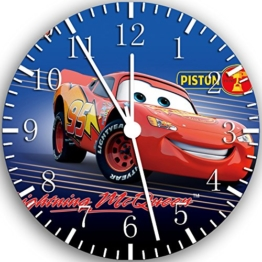 Disney Cars McQueen Wanduhr 25,4cm Nice Geschenk und Raum Wand Decor W101 - 1