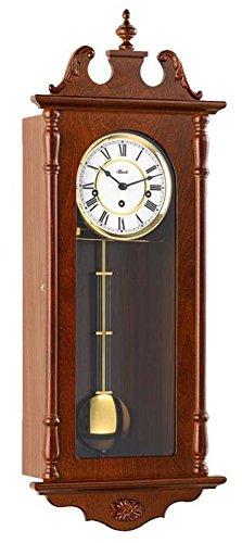 Hermle Uhrenmanufaktur 70965-032214 Pendelwanduhr Regulateur, nussbaum - 1