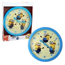 Ich Einfach Unverbesserlich 2 – Wanduhr Kinderzimmer Uhr Minions 25cm - 1