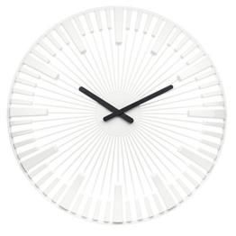 Koziol Piano, Wanduhr, Uhr, Quarzuhrwerk, Dekoration, Solid Weiß, 2340525 by Koziol - 1