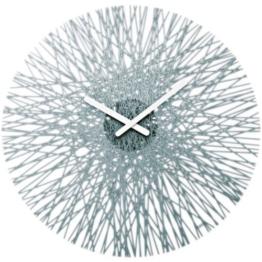 Koziol Wall Silk Clock Anthrazite 18″ by Koziol - 1