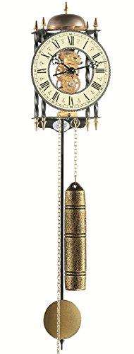 Mechanische Skelettuhr mit Metallräderwerk Hermle -Lester- 70503-000701 - 1