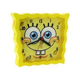 Spongebob Schwammkopf – SBCLK01 – gelbe Wanduhr für Kinder / Kinderuhr - 1