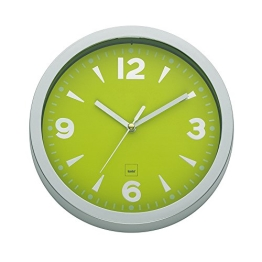 Wanduhr OSLO Apfel-Grün / Lime Küchenuhr - 1