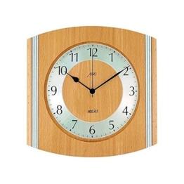Wanduhr ZEIT.punkt Holz Silber 26cm - 1
