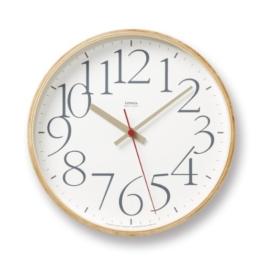 Lemnos LC04-11 Wanduhr AY Clock, weiß - 1
