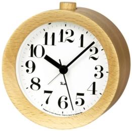 Lemnos WR09-15 RIKI Alarm Clock, natur - 1