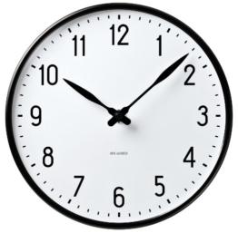 ROSENDAHL Wanduhr Arne Jacobsen STATION CLOCK 210 43633, D. 21 cm - 1