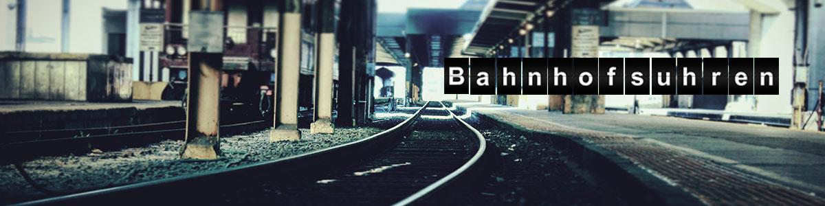 Bahnhofsuhren