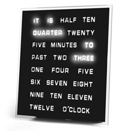 LED Word Clock by Princess International, Inc. - 1