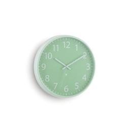 Umbra 118422-473 Wall Display Perftime Wanduhr, Küchenuhr, Wohnzimmeruhr, Uhr, Stahlgeflechtlinse, metall / Stahl, minze -