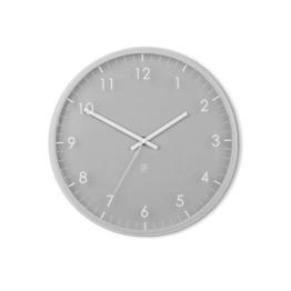 Umbra 118423-918 Pace moderne Wand-/Designuhr, grau -