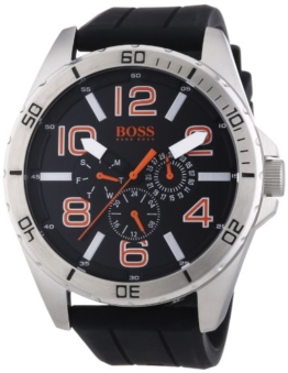 Boss Orange Herren-Armbanduhr XL Big Times Multieye Analog Quarz Silikon 1512945 -