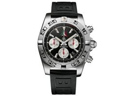 Breitling Herren-Armbanduhr Breitling Chronomat 44 P.A.N. Frecce Tricolori AB01104D/BC62/153S Chronograph Gummi Schwarz AB01104DBC62153S -