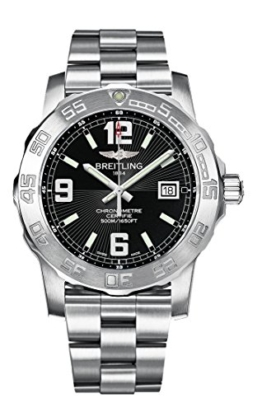 Breitling Herren-Armbanduhr Colt Analog Quarz Edelstahl A7438811/BD45/173A -