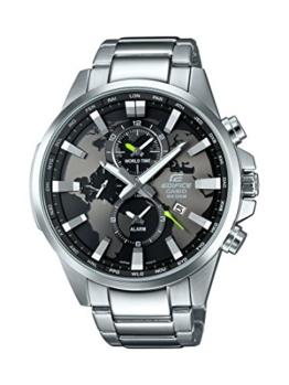 Casio Herren-Armbanduhr Edifice Analog Quarz Edelstahl EFR-303D-1AVUEF -