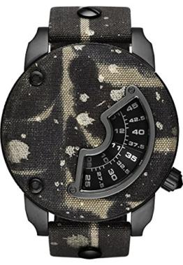 Diesel Alrite Herren-Armbanduhr Analog Quarz One Size, perlmutt, braun -