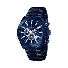 Festina Herren-Armbanduhr Chronograph Quarz Edelstahl beschichtet F16887/1 -