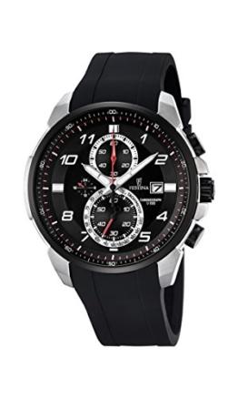 Festina Herren-Armbanduhr Chronograph Quarz Plastik F6841/2 -