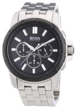 Hugo Boss Herren-Armbanduhr Analog Quarz Edelstahl 1512928 -