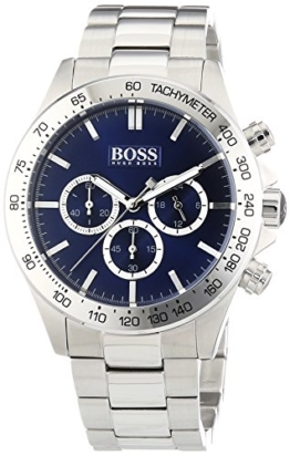 Hugo Boss Herren-Armbanduhr HB-6030 Chronograph Quarz Edelstahl 1512963 -