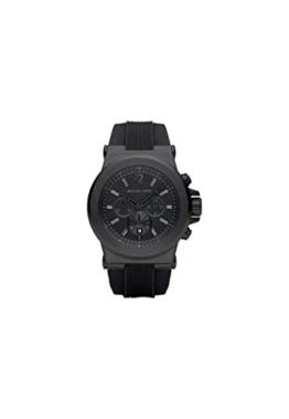 Michael Kors Herren-Armbanduhr Analog Quarz One-Size, Schwarz, schwarz -