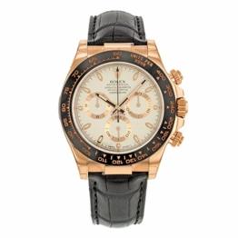 Rolex Daytona 116515LNI 18K Everose Gold automatische Herren-Armbanduhr -