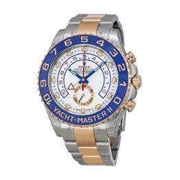 Rolex Yacht-Master Uhr Stahl Herren Rose 18kt Gold und II -