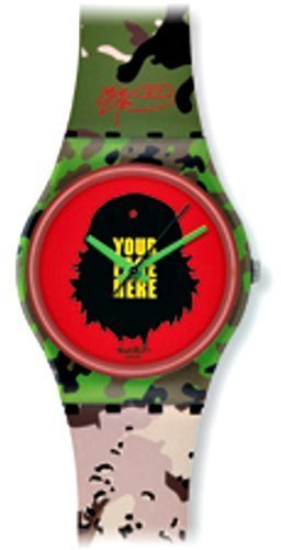 Swatch Kinder-Armbanduhr Tic Tic Boom kidrobot GB251 -