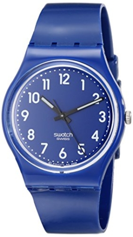 Swatch Unisex-Armbanduhr Up-Wind Analog Quarz Plastik GN230 -