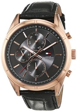 Tommy Hilfiger Herren-Armbanduhr Analog Quarz Leder 1791125 -