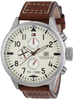 Tommy Hilfiger Herren-Armbanduhr Cool Sport Analog Quarz Leder 1790684 -