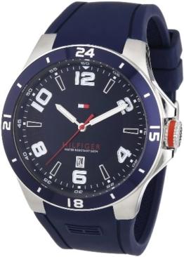 Tommy Hilfiger Herren-Armbanduhr Cool Sport XL Analog Quarz Silikon 1790862 -