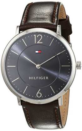 Tommy Hilfiger Herren-Armbanduhr Sophisticated Sport Analog Quarz Leder 1710352 -