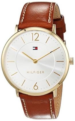 Tommy Hilfiger Herren-Armbanduhr Sophisticated Sport Analog Quarz Leder 1710353 -