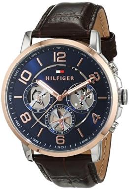 Tommy Hilfiger Herren-Armbanduhr Sophisticated Sport Analog Quarz Leder 1791290 -