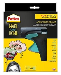 Pattex Heißklebepistole Made at Home, 6 Heißklebesticks, PMHHP -