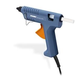 Steinel Heißklebe-Pistole Gluematic 3002, Förderleistung 16 g/min, moderne PTC-Heiztechnik, Inklusive 3 ULTRA Power Klebesticks 11 mm, Ideale Klebepistole für Haushalt, Hobby und Handwerk, 333317 -