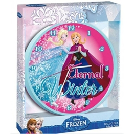 Disney – Frozen – Wanduhr 24 cm - 1