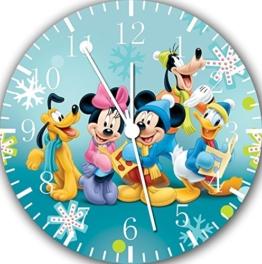 Disney Mickey und Minnie Wanduhr 25.40 cm schönes Geschenk und Wand, E12 - 1