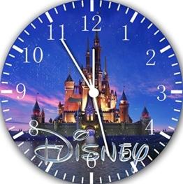 Disney Wanduhr Schloss 25.40 cm Wohnzimmer und wird Geschenk Wanddekoration E19 - 1
