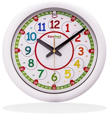 Easyread Time Teacher Kinder Wanduhr Wanduhrenshop De
