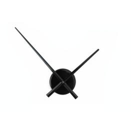 HAB & GUT© (A010) schlichte Wanduhr BIG TIME, hochwertiges Quarzwerk, Umlauf 50 cm, Aluminium schwarz - 1